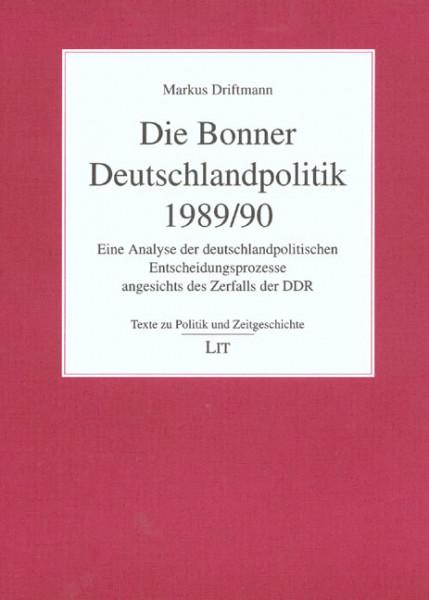 Die Bonner Deutschlandpolitik 1989/90