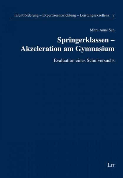 Springerklassen - Akzeleration am Gymnasium