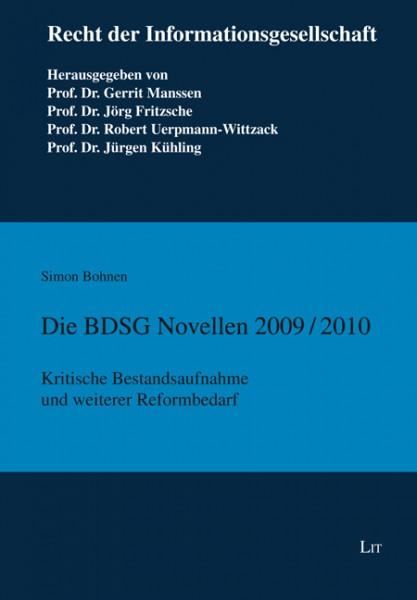 Die BDSG Novellen 2009/2010