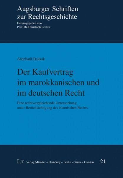 Der Kaufvertrag im marokkanischen und im deutschen Recht