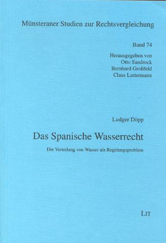 Das Spanische Wasserrecht