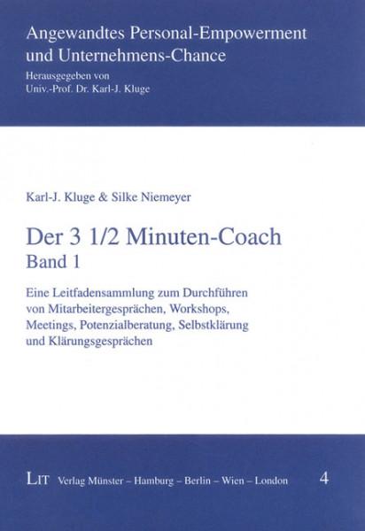 Der 3 1/2 Minuten-Coach. Band 1