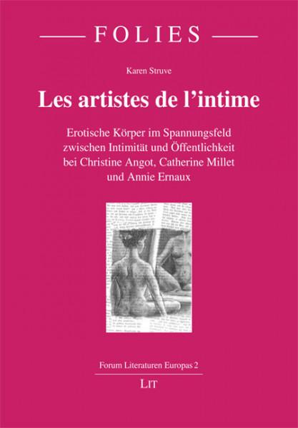 """Les artistes de l'intime"""