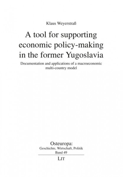 A tool for supporting economic policy-making in the former Yugoslavia