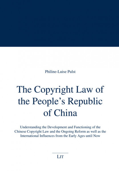 The Copyright Law of the People's Republic of China