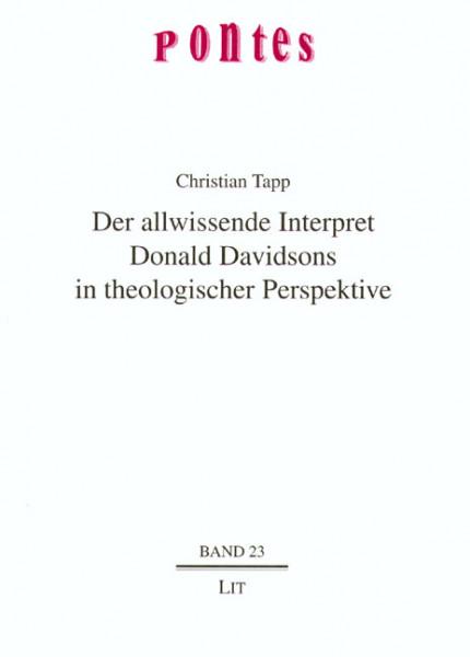 Der allwissende Interpret Donald Davidsons in theologischer Perspektive