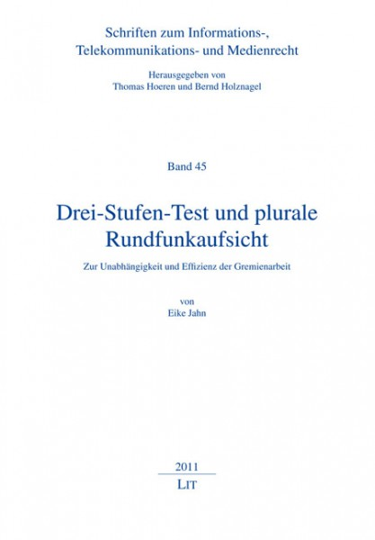 Drei-Stufen-Test und plurale Rundfunkaufsicht