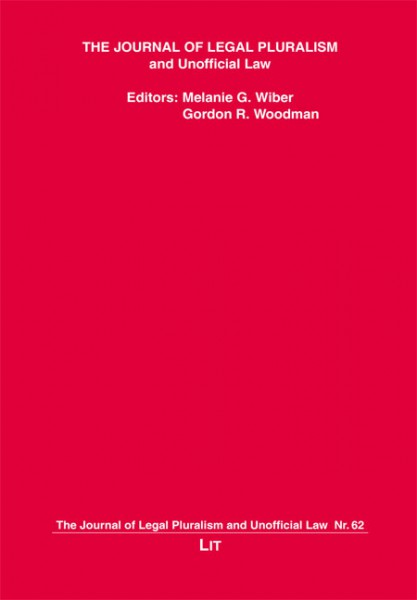 The Journal of Legal Pluralism and Unofficial Law 62/2010