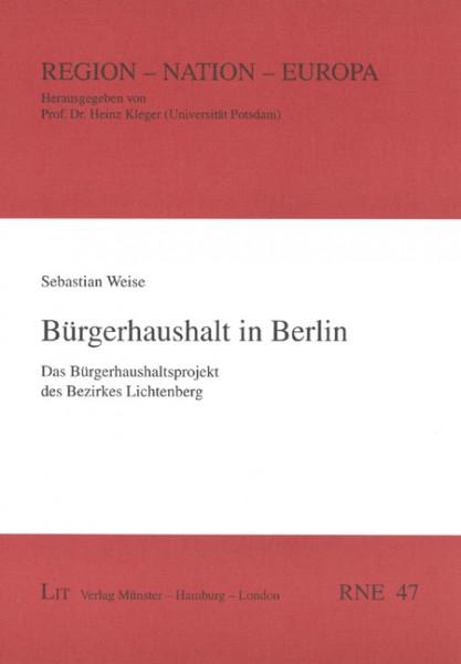 Bürgerhaushalt in Berlin