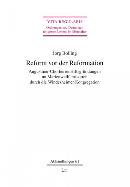 Reform vor der Reformation