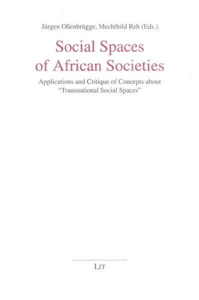 Social Spaces of African Societies