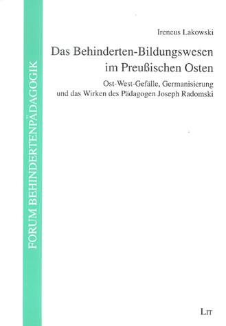 Das Behinderten-Bildungswesen im Preußischen Osten