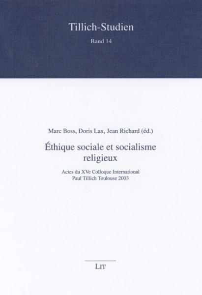 Éthique sociale et socialisme religieux
