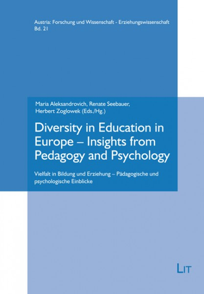 Diversity in Education in Europe - Insights from Pedagogy and Psychology