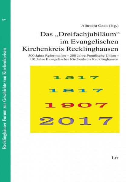 """Das """"Dreifachjubiläum"""" im Evangelischen Kirchenkreis Recklinghausen"""