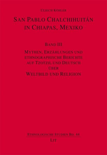 San Pablo Chalchihuitán in Chiapas, Mexiko