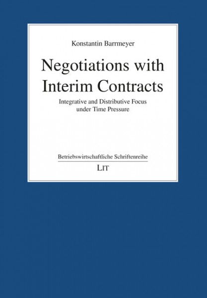 Negotiations with Interim Contracts