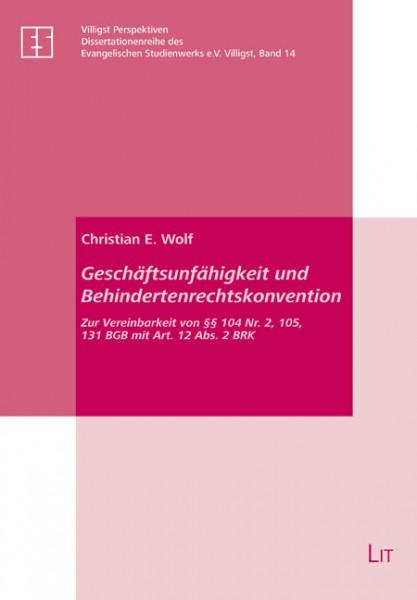 Geschäftsunfähigkeit und Behindertenrechtskonvention