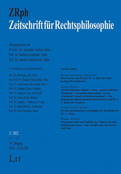 Zeitschrift für Rechtsphilosophie. 2/2012