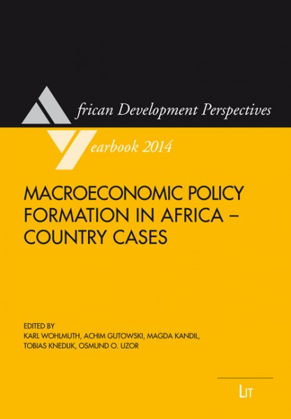 Macroeconomic Policy Formation in Africa - Country Cases
