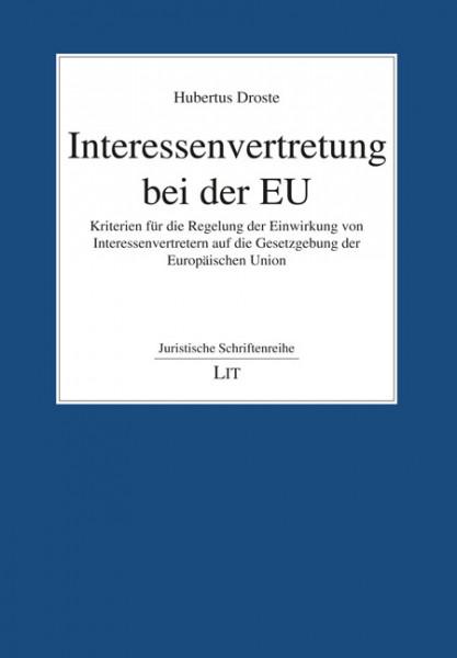 Interessenvertretung bei der EU