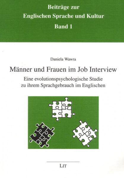 Männer und Frauen im Job Interview