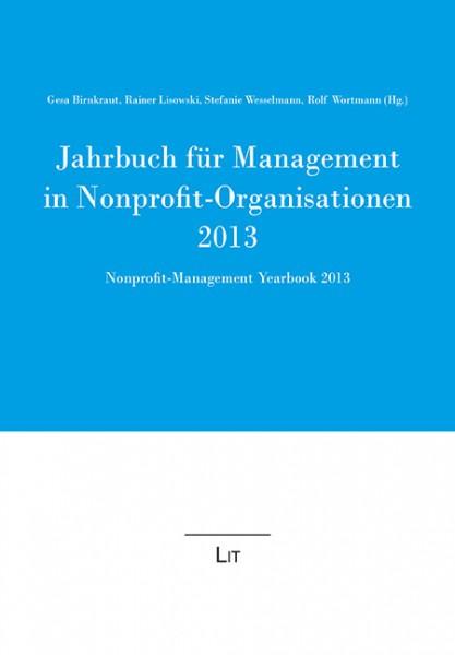 Jahrbuch für Management in Nonprofit-Organisationen 2013