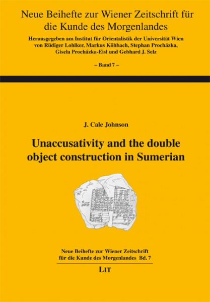 Unaccusativity and the double object construction in Sumerian