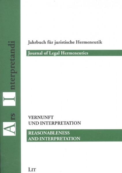 Vernunft und Interpretation / Reasonabless and Interpretation