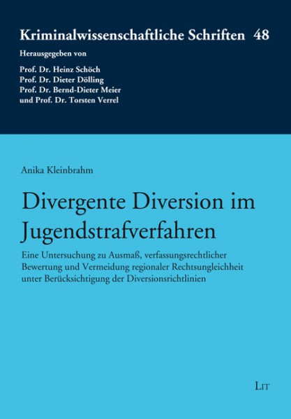 Divergente Diversion im Jugendstrafverfahren