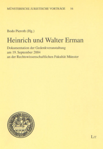 Heinrich und Walter Erman