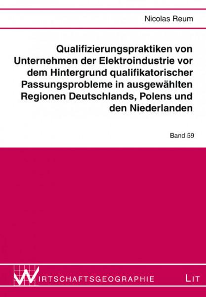 Qualifizierungspraktiken von Unternehmen der Elektroindustrie vor dem Hintergrund qualifikatorischer Passungsprobleme in ausgewählten Regionen Deutschlands, Polens und den Niederlanden
