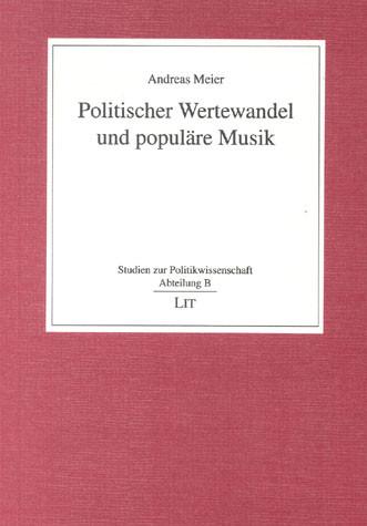 Politischer Wertewandel und populäre Musik
