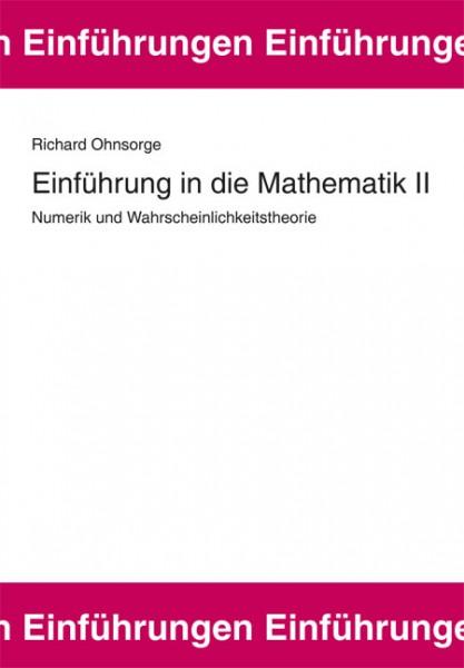 Einführung in die Mathematik II