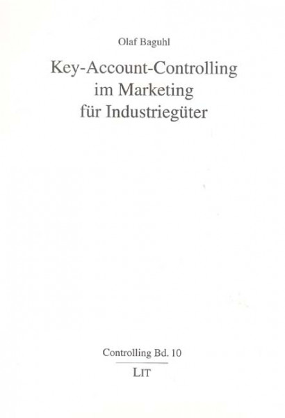 Key-Account-Controlling im Marketing für Industriegüter