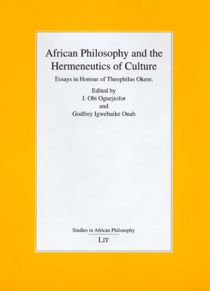 African Philosophy and the Hermeneutics of Culture