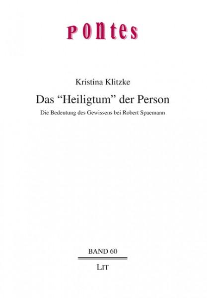 """Das """"Heiligtum"""" der Person"""