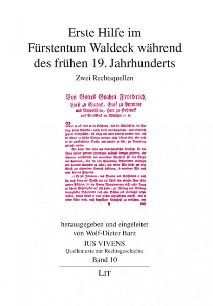Erste Hilfe im Fürstentum Waldeck während des frühen 19. Jahrhunderts