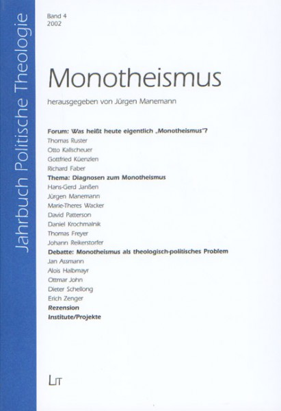 Monotheismus