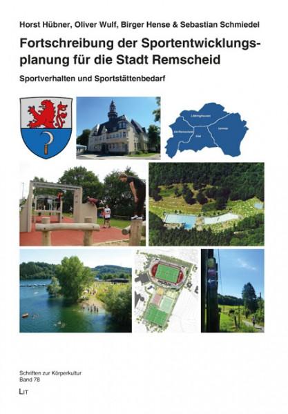 Fortschreibung der Sportentwicklungsplanung für die Stadt Remscheid