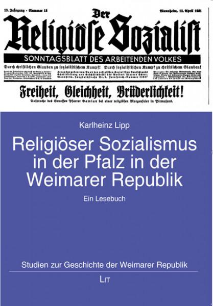 Religiöser Sozialismus in der Pfalz in der Weimarer Republik