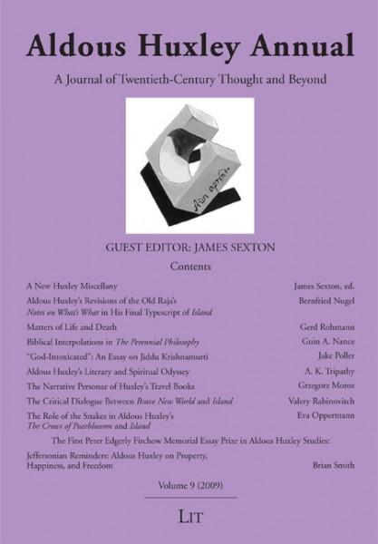 Aldous Huxley Annual