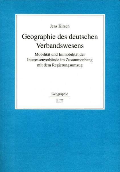 Geographie des deutschen Verbandswesens