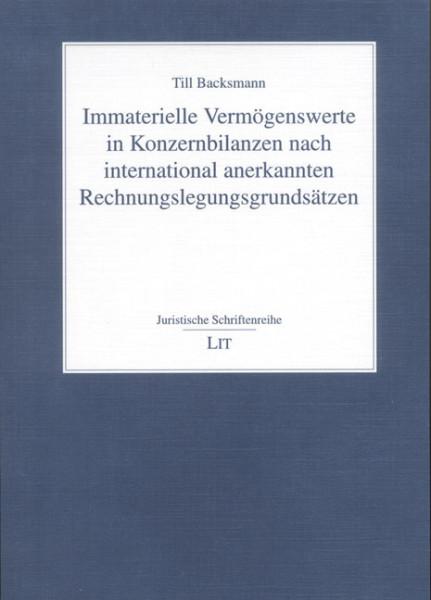 Immaterielle Vermögenswerte in Konzernbilanzen nach international anerkannten Rechnungslegungsgrundsätzen