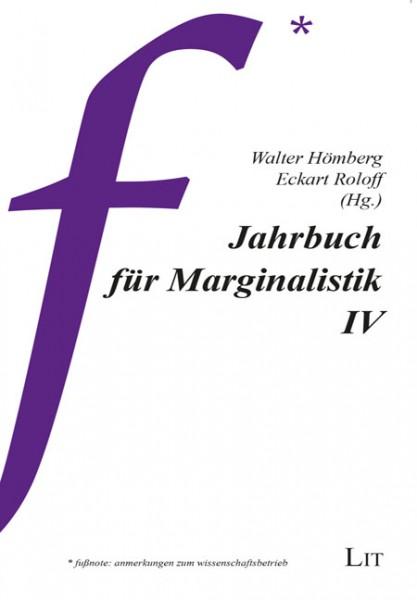 Jahrbuch für Marginalistik IV