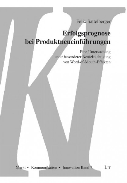 Erfolgsprognose bei Produktneueinführungen