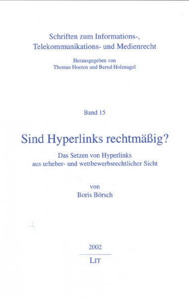 Sind Hyperlinks rechtmäßig?
