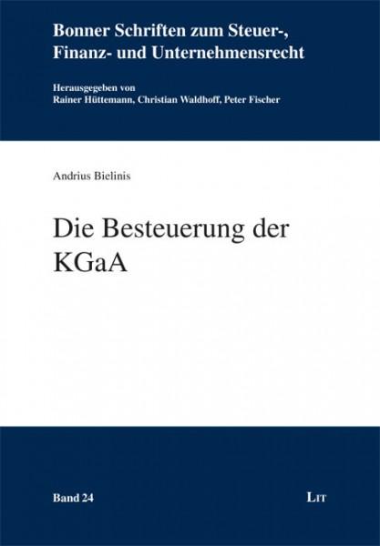 Die Besteuerung der KGaA