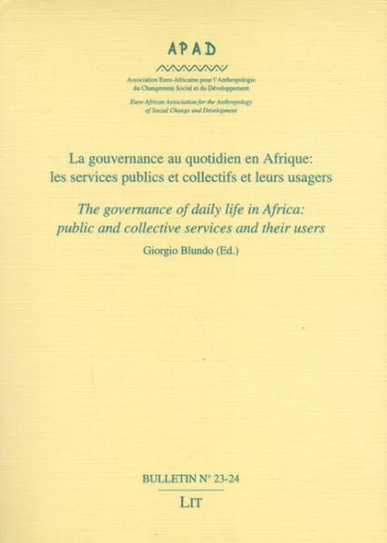 La gouvernance au quotidien en Afrique: les services publics et collectifs et leurs usagers
