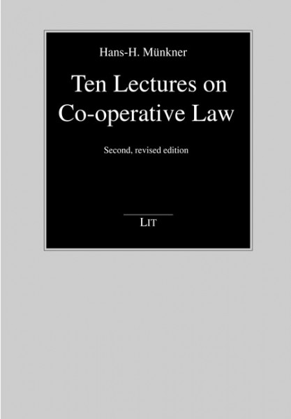 Ten Lectures on Co-operative Law
